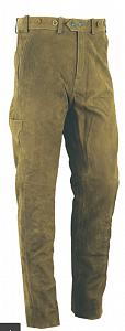Kalhoty Carl Mayer kožené zelené vel. 56 - 1