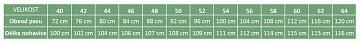 Kalhoty Carl Mayer kožené zeleno-hnědé vel. 52 - 2