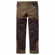 Kalhoty Carl Mayer kožené zeleno-hnědé vel. 56