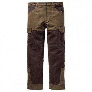Kalhoty Carl Mayer kožené zeleno-hnědé vel. 58 - 1
