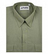 Košile Afars společenská s krátkým rukávem vel. 47