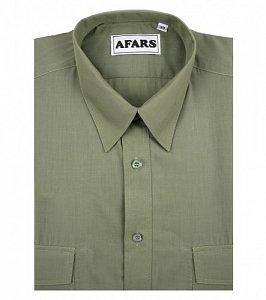 Košile Afars společenská s krátkým rukávem vel. 47 - 1