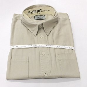 Košile HAMILTON béžová vel.L - 1