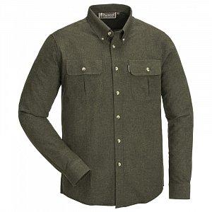 Košile PINEWOOD Edmonton 5333 zelená melange vel. XL - 1