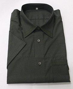 Košile zelená vel 42. pruh - 1