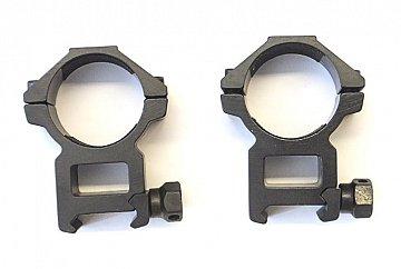 Montáž dvoudílná střední 30mm weaver - 1
