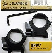 Montáž Leupold QRW2 25,4mm rychloupínací vysoké matné