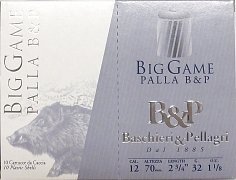 Náboj B & P Big Game Palla r.12x70 10ks