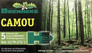 Náboj Brenneke 12x70 Camou