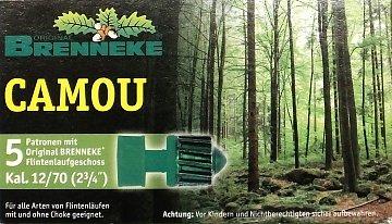 Náboj Brenneke 12x70 Camou  - 1
