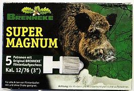 Náboj Brenneke 12x76 Super Magnum 39g 5 ks