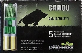 Náboj Brenneke 16x70 Camou
