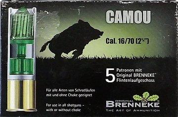 Náboj Brenneke 16x70 Camou - 1