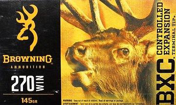 Náboj Browning BXC 270 Win. 145gr. 20 ks - 1