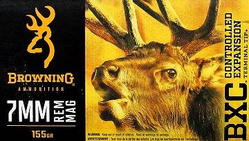 Náboj Browning BXC 7mm Rem. Mag. 155gr 20ks - 1
