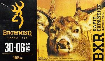 Náboj Browning BXR 30-06 Spr. 155gr. 20 ks  - 1