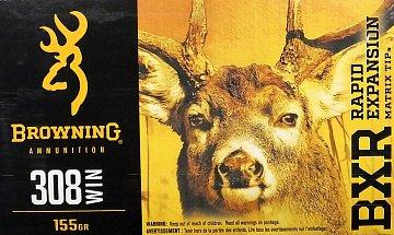 Náboj Browning BXR 308 Win. 155gr. 20 ks - 1
