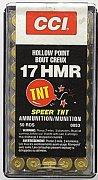 Náboj CCI .17 HMR TNT HP 50 ks