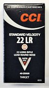 Náboj CCI .22 LR Standard Velocity 50 ks