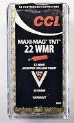 Náboj CCI .22 WMR Maxi-Mag TNT 50 ks