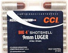 Náboj CCI 9mm Luger Big 4 Shotshell brokový 10ks