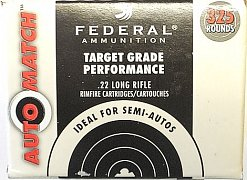 Náboj Federal .22 LR Auto Match 325 ks