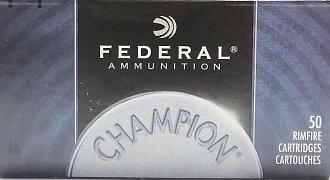 Náboj Federal 22LR Champion HV 50ks
