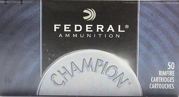 Náboj Federal 22LR Champion HV 50ks - 1