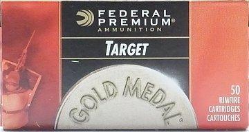 Náboj Federal 22LR Gold Medal Target 50 ks - 1