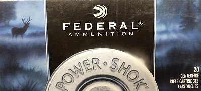 Náboj Federal 243Win. POWER SHOK 100gr. 20 ks