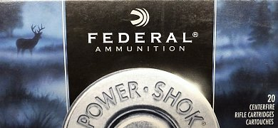 Náboj Federal 270 Win POWER SHOK 150gr. 20ks