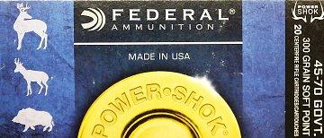 Náboj Federal 45-70GOVT Power Shok 300grs - 1