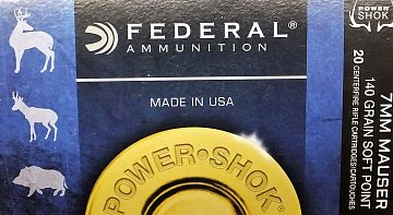 Náboj Federal 7x57 Speer Hot Cor 140gr. 20ks - 1