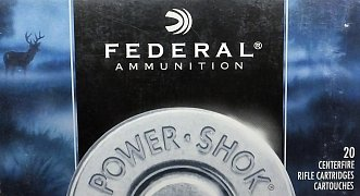 Náboj Federal 8x57 JS POWER SHOK 170gr 20ks