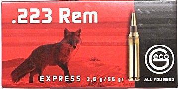 Náboj GECO .223 Rem. Express 3,6g 20 ks