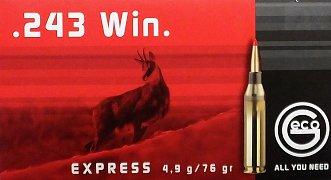 Náboj GECO 243 Win. Express 4,9g 20ks