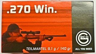 Náboj Geco .270 Win. TM 9,1g 20 ks