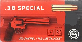 Náboj GECO .38 Special FMJ 10,2g 50 ks