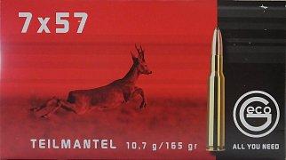 Náboj GECO 7x57 TM 10,7g 20 ks