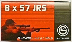 Náboj Geco 8x57 JRS TM 12g 20 ks