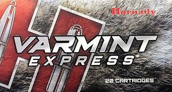 Náboj Hornady 223 Rem. Varmint Express 55gr.V-MAX 20ks