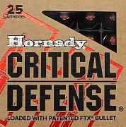 Náboj Hornady 9mm Luger Critical Defense 115gr. FTX CD 25ks