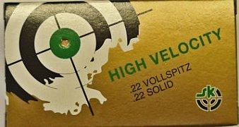 Náboj Lapua .22 LR High Velocity Vollspitz 50 ks