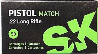 Náboj Lapua .22 LR Pistol Match 50 ks