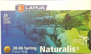 Náboj Lapua .30-06 Spr. 11g Naturalis 20 ks