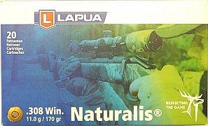Náboj Lapua .308 Win. 11g Naturalis 20 ks