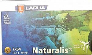 Náboj LAPUA 7x64 Naturalis 10,1g 20 ks