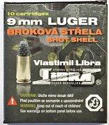 Náboj Libra 9mm Luger broková střela 10 ks