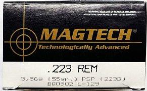 Náboj MAGTECH .223 Rem. SP 3,56g 50 ks