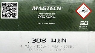 Náboj Magtech .308 Win. SP 150gr 50ks